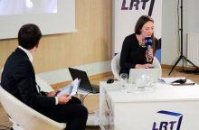"""V. Mickutė iš LRT keliasi į """"Al Jazeera"""" televiziją"""