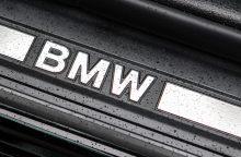 Kaune pavogtas BMW automobilis