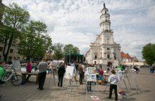 Ekspertai nepritaria sprendimui Kauno rotušės aikštėje statyti J. Vileišio paminklą