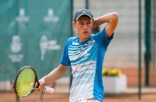 """T. Babelis """"Futures"""" serijos turnyrą Estijoje pradėjo nesėkme"""