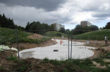 Pagaliau: Draugystės parke vėl čiurlens fontanas!