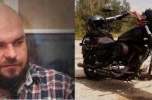 Dingo motociklu iš namų išvažiavęs vilnietis