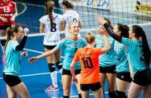 Savaitgalį paaiškės Lietuvos moterų tinklinio čempionato finalo dalyvės