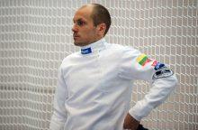 J. Kinderis liko šalia Europos čempionato pakylos