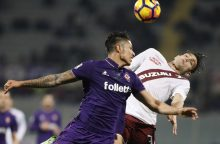 """""""Serie A"""": """"Torino"""" išplėšė lygiąsias"""