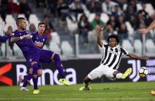 "Italijos ""Serie A"" čempionate – dvivaldystė"