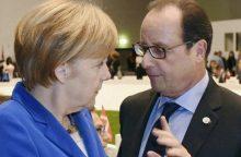 Europos Sąjungos lyderiai atmeta galimybę keisti sutartį reformuojant ES