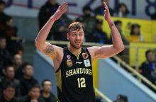 D. Motiejūnas pelnė 29 taškus Kinijos lygos ketvirtfinalio mače