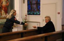Spalio mėnesį – ypatingas Kauno pareigūnų dėmesys senjorams