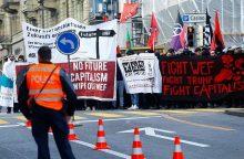 Davosas uždraudė protestus Pasaulio ekonomikos forumo metu