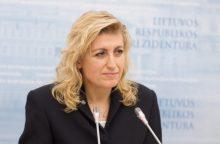Kultūros ministrė L. Ruokytė-Jonsson: ateinu į labiausiai apleistą sritį