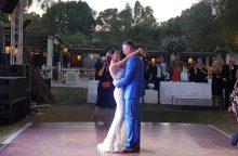 Paviešintos Š. Jasikevičiaus ir A. Doukos vestuvių Graikijoje nuotraukos