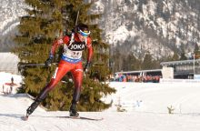 Biatlonininkė N. Kočergina atvirajame Europos biatlono čempionate liko 53-ia