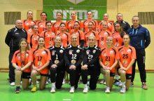 Lietuvos moterų rankinio pirmenybių starte uteniškės namuose pralaimėjo vilnietėms