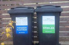Vilniaus miesto gyventojams nemokamai dalinami antrinių atliekų konteineriai