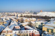 Ruošiamas Šiaurinės gatvės Vilniuje projektas