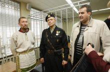 Klaipėdos apygardos teisme – antivalstybine veikla kaltinamų vyrų byla
