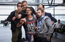 P. Jankūnas žengia garsiausių NBA žvaigždžių keliu – filmuojasi kine