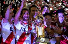 Pietų Amerikos futbolo supertaurė liko Buenos Airių klube