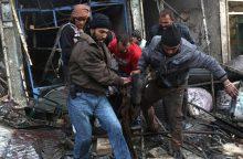 Per numanomus Rusijos antskrydžius Sirijoje žuvo mažiausiai 46 žmonės