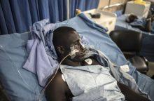 Subombarduotos Nigerijos stovyklos aukų skaičiusi perkopė 90