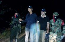 Kolumbijos sukilėliai paleido du pagrobtus olandų žurnalistus