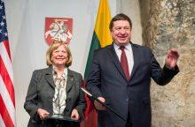 Istorinė diena: Lietuva ir JAV pasirašė svarbią sutartį