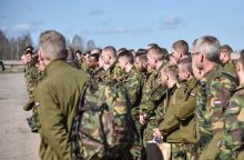 Į NATO batalioną Lietuvoje atvyko olandų kariai