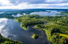 Renkamos gražiausios nacionalinių parkų nuotraukos iš paukščio skrydžio