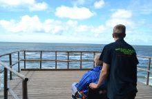 Socialinė iniciatyva neįgaliesiems – nemokamas kelialapis prie jūros