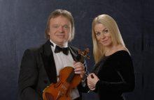 V. Genytė ir Z. Levickis jungiasi klasikos ir miuziklų projektui