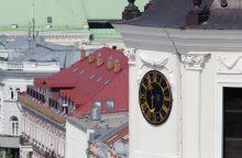 Seniausias viešasis laikrodis Lietuvoje švęs 345-ąjį gimtadienį