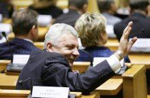 A. Salamakinas – apie praeitin grįžusį Seimą ir nenorą būti pastumdėliu