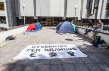 Rengiamas protestas prieš naująjį Darbo kodeksą vyks iki Prezidentės veto
