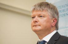K. Navickas su ES ministrais aptars reikalavimą stabdyti Astravo AE statybą