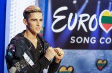 """Netikėtas posūkis: kam """"Eurovizijoje"""" atstovaus D. Montvydas?"""