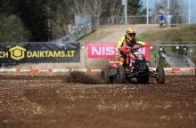Lietuvos motokroso čempionate – A. Jasikonio pergalė