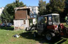 Uostamiestyje nugriovė kvartalo reliktą
