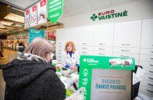 """Geriausia Baltijos šalių vaistine pripažinta """"Eurovaistinė"""" Raudondvario plente"""