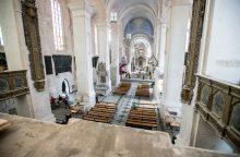 Popiežiaus vizitas: nuo popierinių planų iki remonto darbų