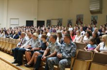 Į Lietuvos policijos mokyklą priimtas 131 kursantas