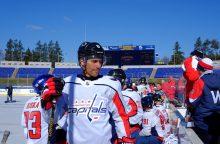 Pasaulio čempionatui besiruošiantis D. Zubrus: fizinė forma kaip prieš NHL sezoną