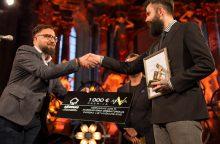 Išdalinti Lietuvos kino operatorių apdovanojimai