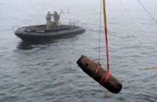 Baltijos jūroje – nesprogusios amunicijos nukenksminimo operacija