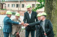 Svarbi diena: Kaune pradėti statyti Krepšinio namai