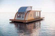 Namai ant vandens stebina dizainu