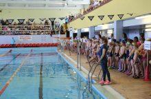 Beveik 1000 Kauno rajono mokyklų antrokų jau moka plaukti