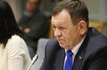 Seimo komisija siūlo naikinti K. Pūko neliečiamybę