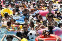 Rekordas: pirmą kartą oro temperatūra Tokijo prefektūroje viršijo 40 laipsnių