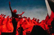 """""""Pink Floyd"""" legendos gastrolės Europoje prasidėjo triumfu Barselonoje"""